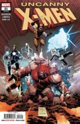Marvel - Uncanny X-Men (2018) # 21