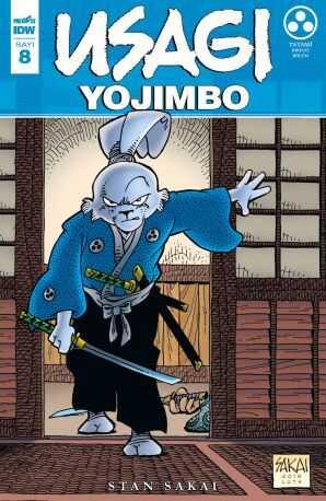 Presstij - Usagi Yojimbo Sayı 8