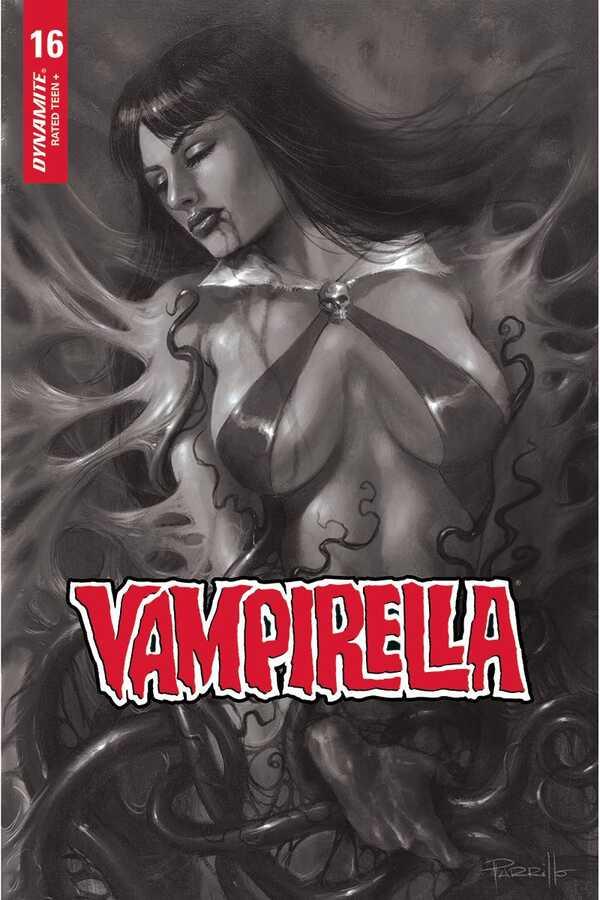 Dynamite - VAMPIRELLA # 16 1:10 PARRILLO B&W