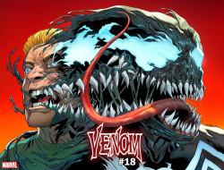 Marvel - Venom (2018) # 18 Sliney Immortal Wraparound Variant