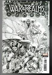 Marvel - War Of Realms # 3 1:200 Art Adams Variant
