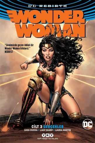 YKY - Wonder Woman (Rebirth) Cilt 3 Gerçekler