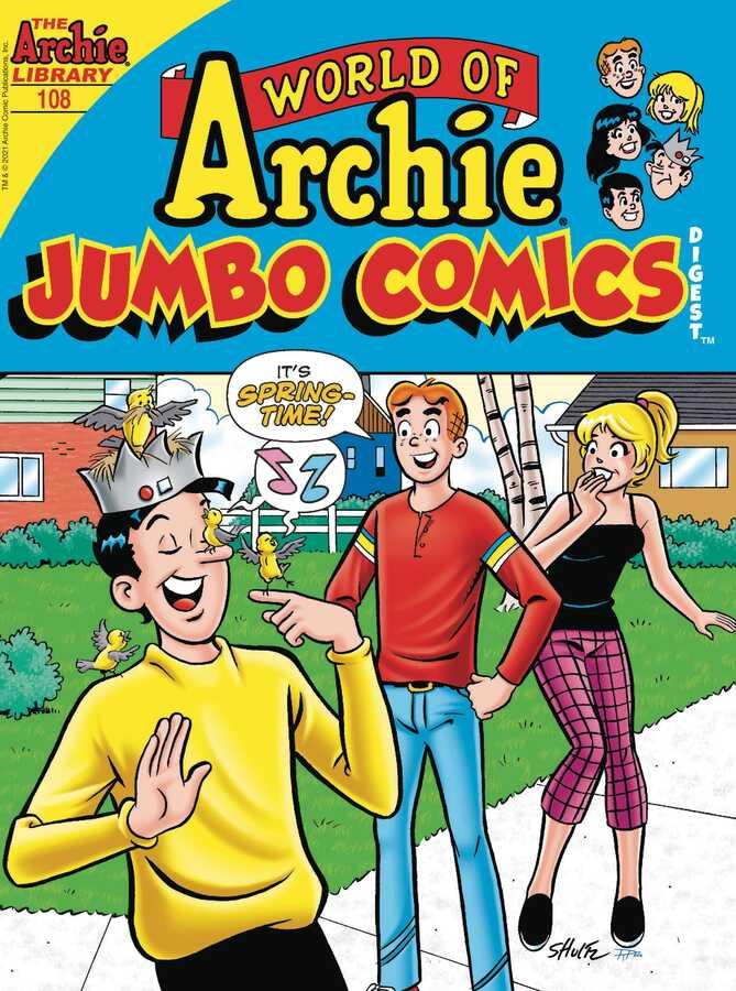 Archie Comics - WORLD OF ARCHIE JUMBO COMICS DIGEST # 108
