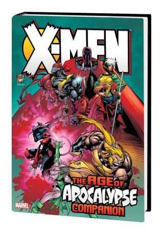 Marvel - X-MEN AGE OF APOCALYPSE OMNIBUS COMPENION HC KUBERT COVER