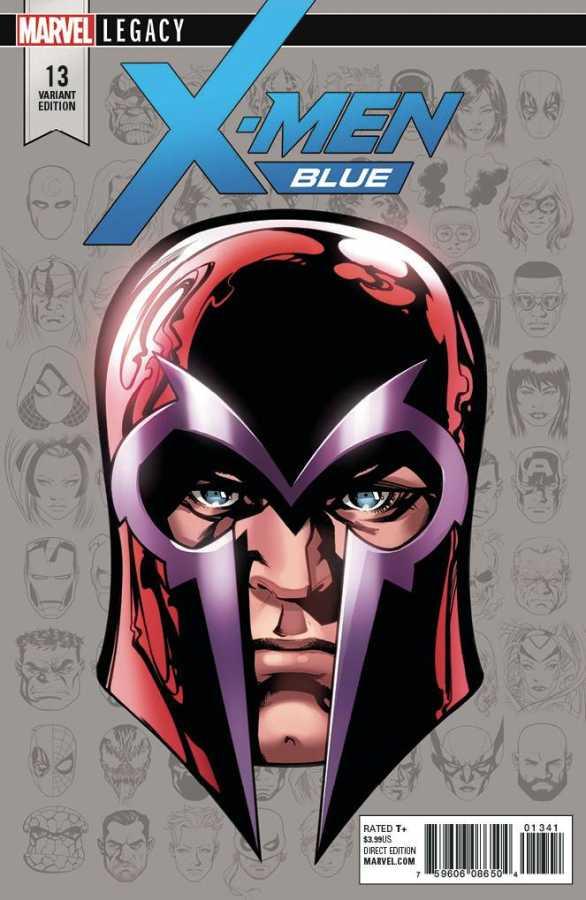 Marvel - X-Men Blue # 13 McKone Headshot Variant Leg