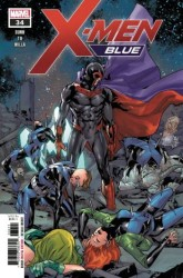 Marvel - X-Men Blue # 34