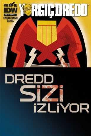 Presstij - Yargıç Dredd Sayı 10 B Kapak