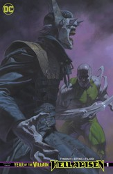 DC - Year Of The Villain Hell Arisen # 1 Card Stock Variant
