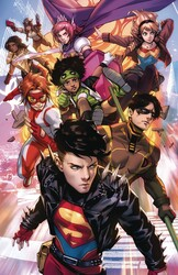 DC - Young Justice # 18 Derrick Chew Variant